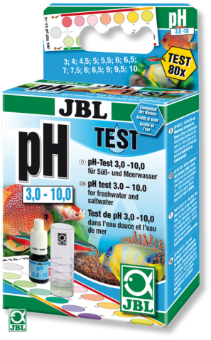 Тест для воды JBL pH Test-Set 3,0-10,0