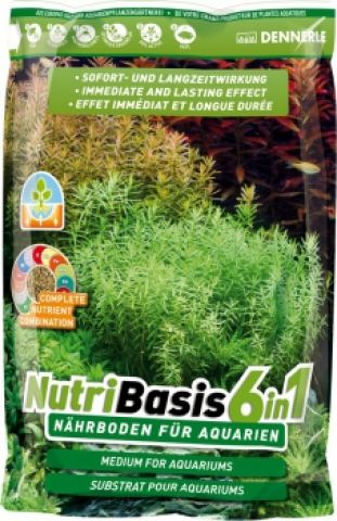 Dennerle NUTRIBASIS 6in1, 2,4 кг -50-70 литров